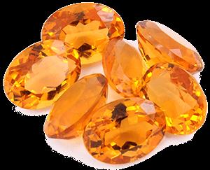 камень цитрин