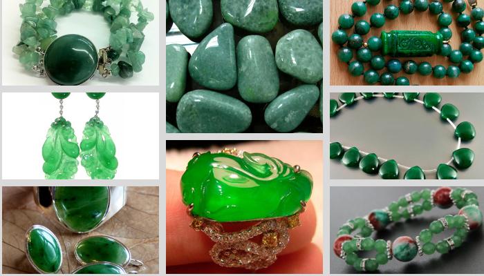 коллажи с драгоценными камнями