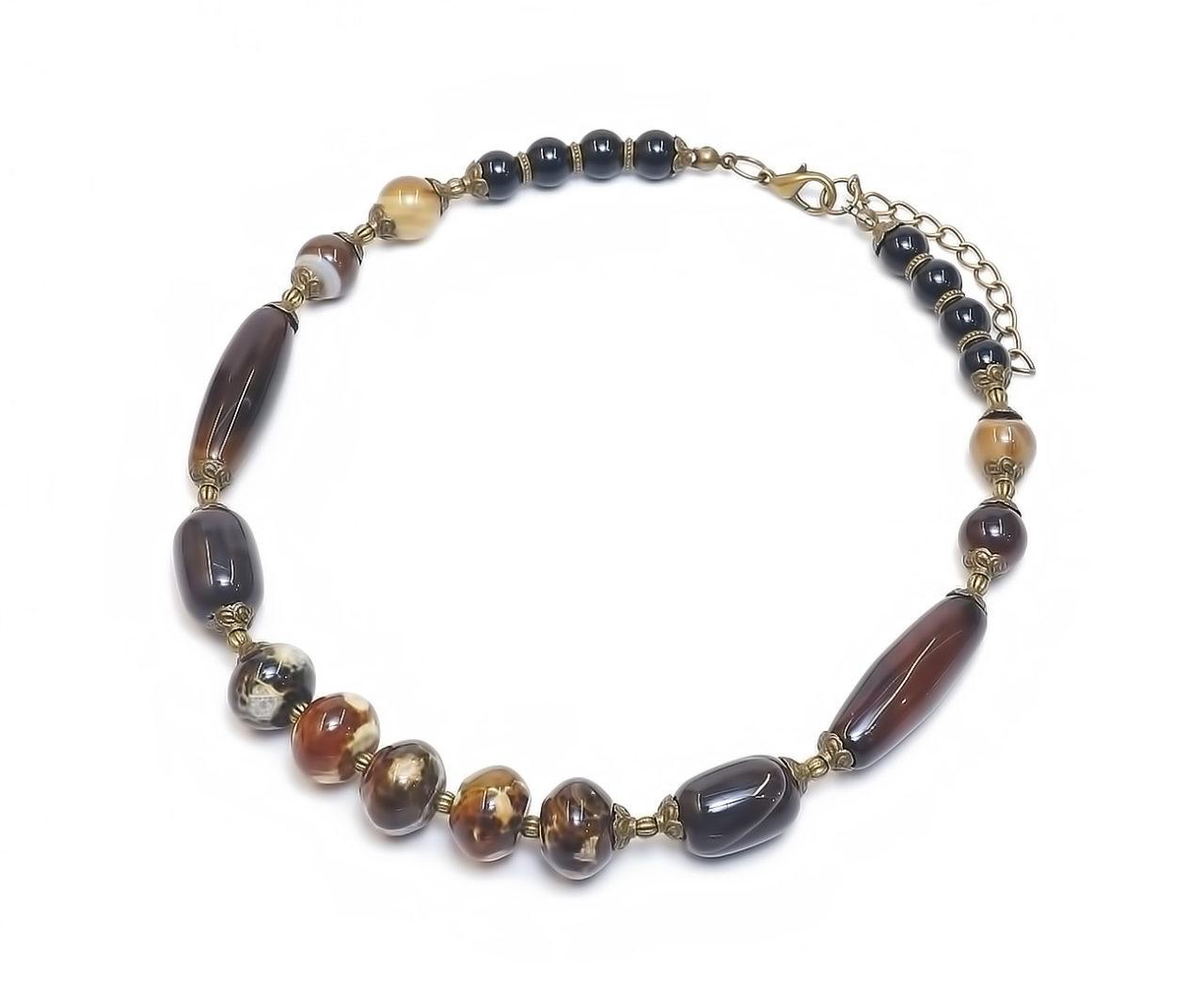 халцедоновое ожерелье