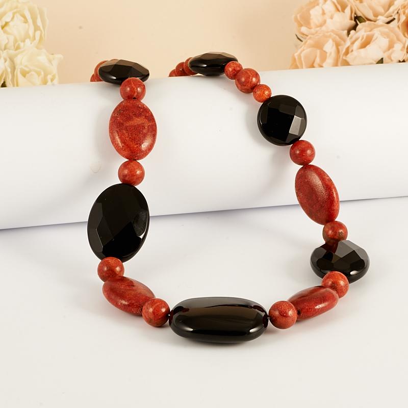 красный и черный коралл