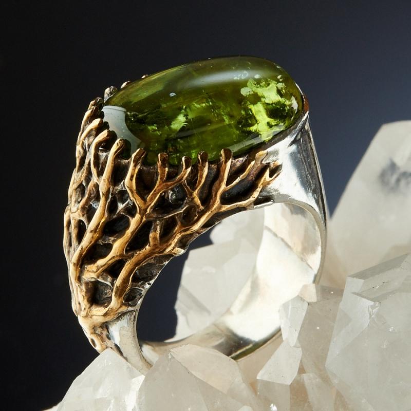 хризолитовое кольцо