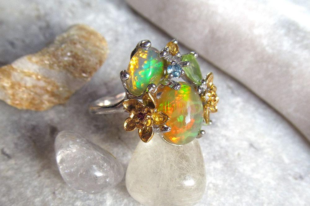 опаловое кольцо